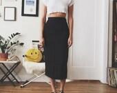 VINTAGE | midi secretary skirt