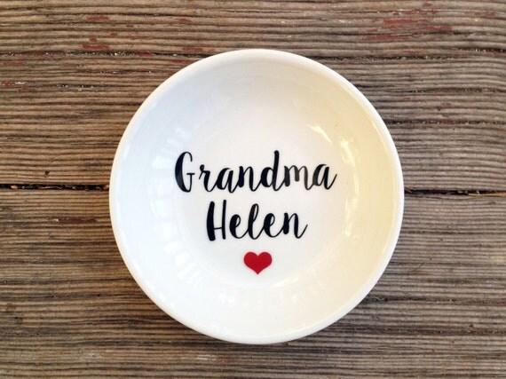 Jewelry Dish | Grandma | Mother's Day | Ring Dish | Grandma of the Bride