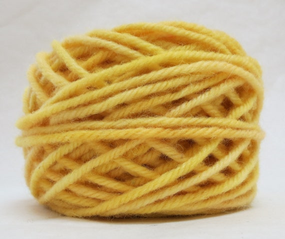 PRIMROSE, 100% Wool, 2 oz. 43 yards, 4-Ply, Bulky weight or 3-ply Worsted weight yarn, already wound into cakes, ready to use. Made to order