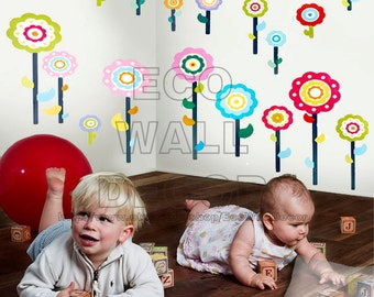 PEEL and STICK Removable Vinyl Wall Sticker Mural Decal Art - Love Tree and Bike (2 sheets)