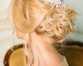 Chrystal e pettine perle avorio Wedding Bridal copricapo - Ester