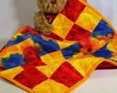 Doll Teddy Bear Small Dog Quilt Blanket