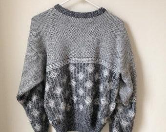 Michael Gerald Vintage Patterned Sweater