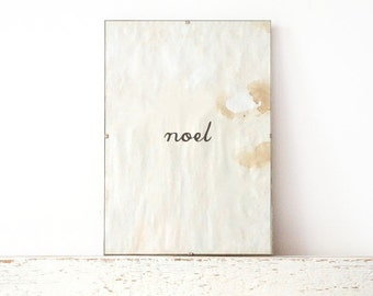 Wall Print, Poster, Sign - noel