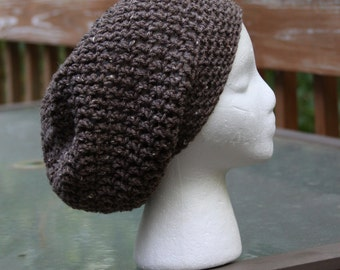 The Sparrow Slouchy Beanie in Barley - Ready to Ship