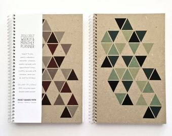 2017 Weekly & Monthly Planner SMALL
