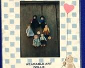 Loving Stitches Wearable Folk Art Dolls Mini Amish Dolls UNCUT