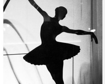 ballet art print black and white photography print ballerina art Paris photography tutu dress balck white art t 4x6 5x7 6x8 8x10 8x10 10x15