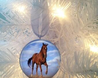Horse #7 Christmas Tree Ornament