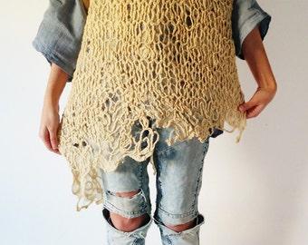 100% merino wool sweater, felted sweater, knitted sweater, hand dyed wool, hand dyed sweater, sweater de lana merino