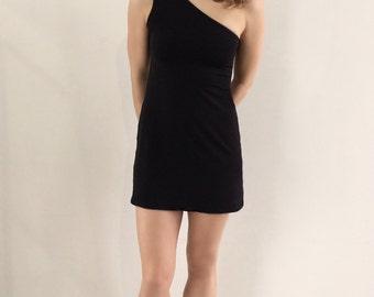 OONU Classic Asymetrical Ultra Mini Dress