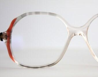 Vintage Smokey Gray and Cinnamon Eyeglasses Frames