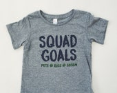 Baby and Toddler SQUAD GOALS T-Shirt