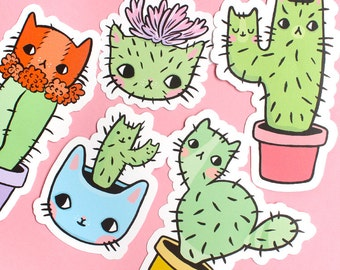 Catcus Vinyl Stickers