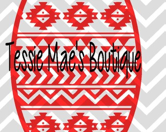 Aztec Elbow Patch, SVG, DXF. Elbow Patch, Aztec Print, Aztec Elbow Patch