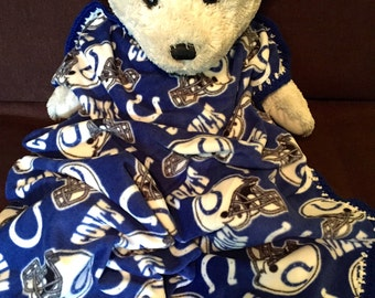 Indianapolis Colts Football Fleece Sports Baby Blanket