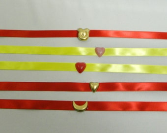 Sailor Moon choker - choice of 1