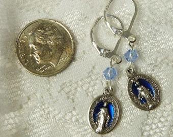Miraculous Medal Earrings~