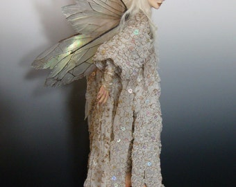 """RESERVED! OOAK """" TANNITH"""", a One of a Kind Art Doll sculpture by Victoria Mock"""