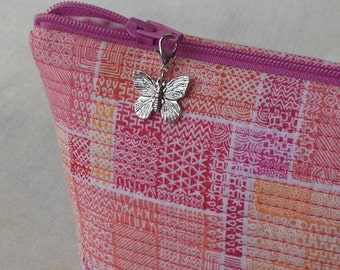 Butterfly Zipper Charm, Butterfly Zipper Pull