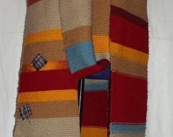 Tom Baker Doctor Who Scarf- Full 23' Hand Knit