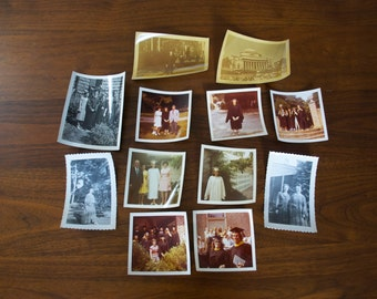 Graduation - Vintage photos