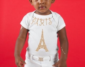 Paris Birthday, Paris Baby Shower, Paris Party, glitter Paris onesie, first birthday paris theme,  Decor,