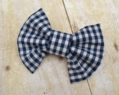 Clip on bow tie - bow ties - ties - baby shower gift - photo prob - neck ties - checkered bow tie - wedding - baby boy - boy - gift