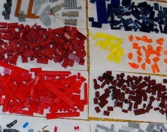 900 Plus Set Building Blocks Mega Bloks Mega Blocks Vintage