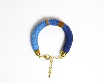 Blue Note - Cord bracelet
