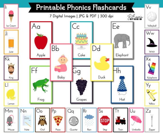 Amazing image inside abc printable flashcards