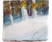 Landscape Painting, Fall Landscape, Winter Landscape, Watercolor Landscape, Watercolor Scene, Watercolor Art, Landscape Art, Zoltan Szabo