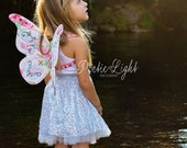 Wife-made Butterfly Wings Pattern, PDF Pattern & Tutorial, Children, Ages 2+, Sewing, Instant Download