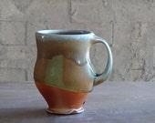 wood soda fired mug #7