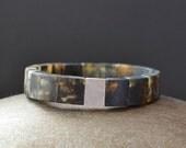 Amber Men Bracelet / Amber Jewelry / Amber For Him / Gift For Men