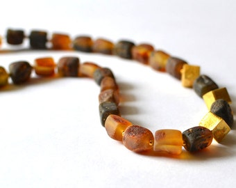 Amber Necklace - Baltic Amber Jewelry - Amber Gift for Her - Real Amber Jewelry, Gift Jewelry, Handmade