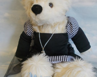 "Metempsychosis Steampunk Teddy Bear ""Lady Beartha Bear-Lynew""16inches high"