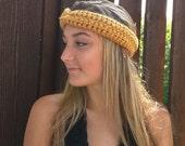 Honey Gold Headband . Mus...