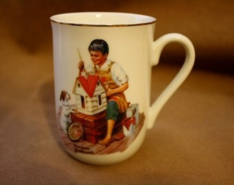 Norman Rockwell Museum Mug /A Dollhouse for Sis