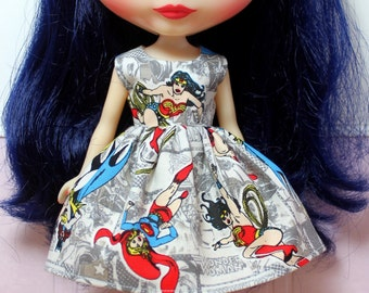 BLYTHE doll Its my party dress - Super Hero Grrrls