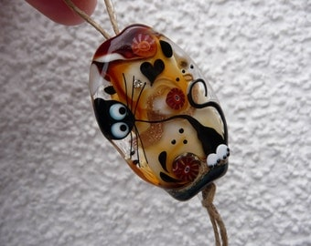 Cat Bead by Ulrike Dietrich