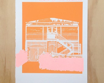 Northern. | limited edition screen printed Australian artwork on paper