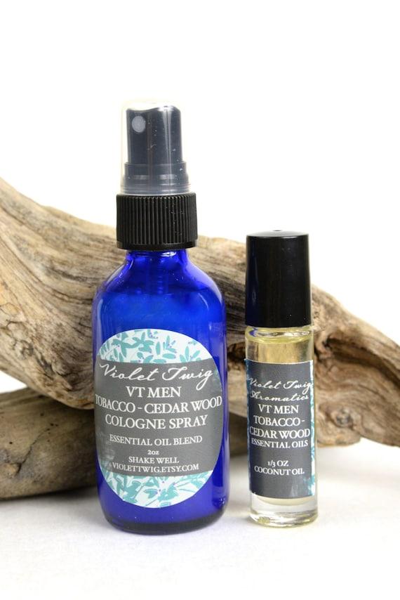 Cedar Cologne Natural Organic