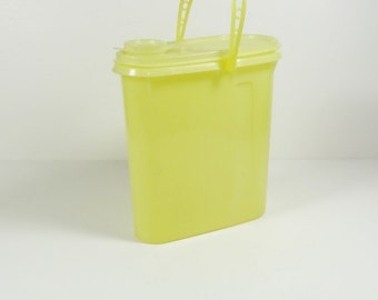 Vintage Tuppeware Beverage Buddy Yellow 587-1