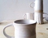 RESERVED white mug