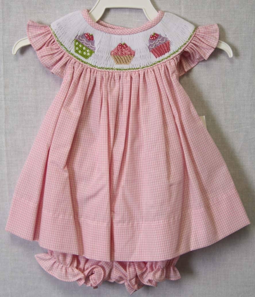 Baby smocked dress   Etsy