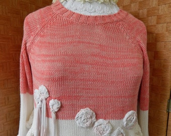 Refashioned sweater