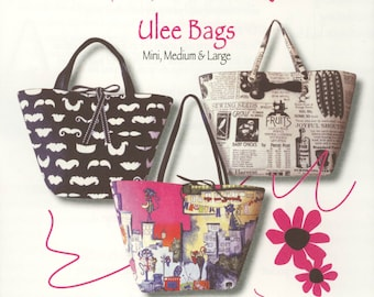 Ulee Bag Pattern In Mini, Medium & Large by Trisha Jane Aprons (TJP-2470)