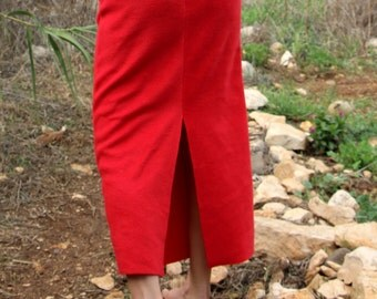 Warm long skirt, maxi midi mini skirt warm and slim, Winter Feminine Fleece skirt, Fall winter skirt
