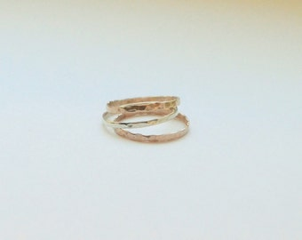Stackable Pinky Rings